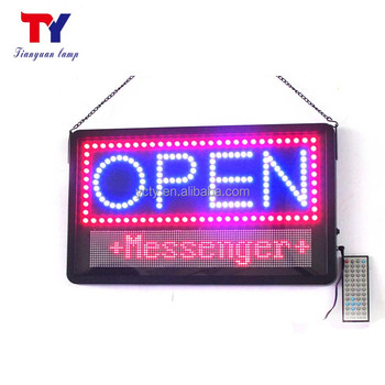 single color LED Scrolling Message Display Signs