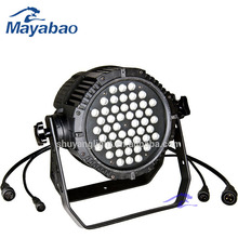 Factory price china led par cans 54X3w rgb 3in1 full color led par 64 38 par can
