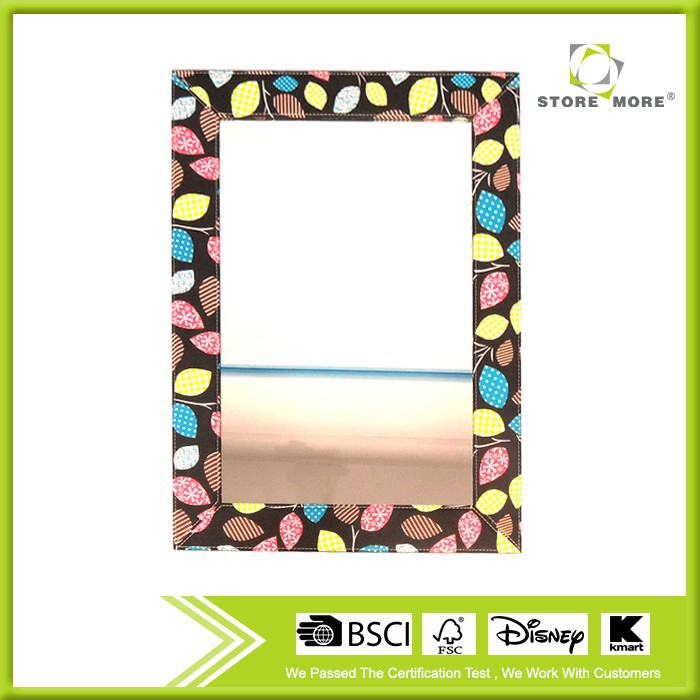 Fabric cover mirror/makeup beautiful mirror