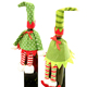 Christmas deer single wine bottle bags,luxury & elegant christmas wine gift bag , dee christmas deer sweater for bottles