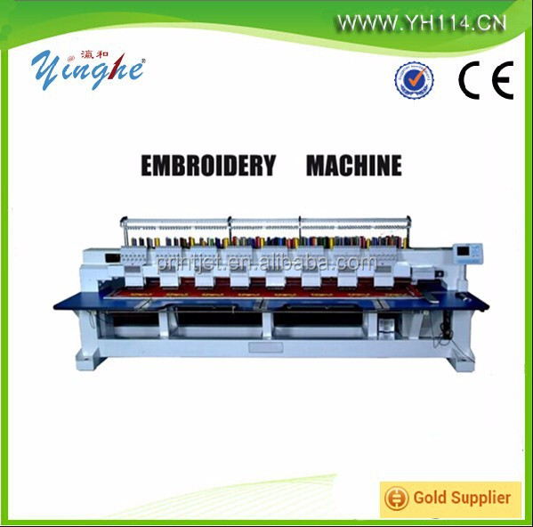 High speed low price 4 heads 8 heads 6 needles 9 needles 12 needles cap embroidery machine for sale