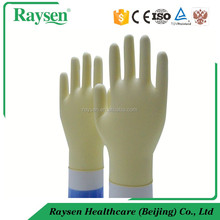 Raysen product Factory price latex gloves liquid resistant