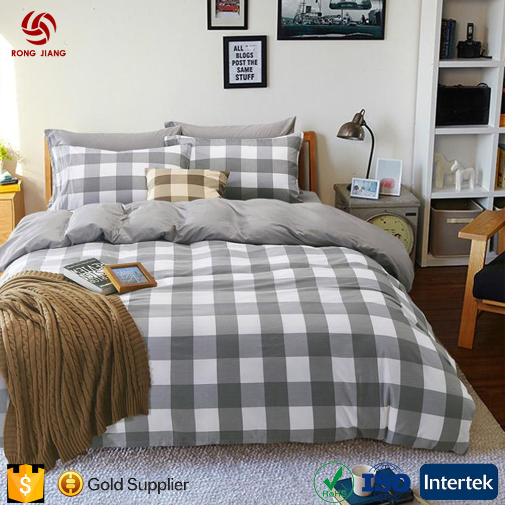 China factory Offer 4 pcs 100% Cotton bedding set with cheap price