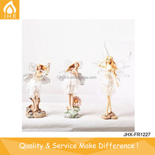 China Factory Decorative Poly Resin Flower Fairy