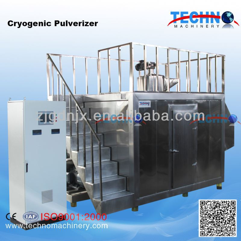 Super Frozen dried Food cryogenic pulverizer for micro powder