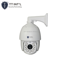 Pan Tilt Optical Zoom Lens 2.0MP High Speed PTZ IP Camera