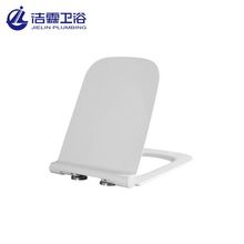 European open front sanitary soft closing plastic toilet seat cover