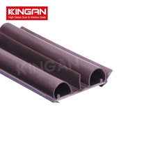 American door bottom pvc sweep co-extruded door strip