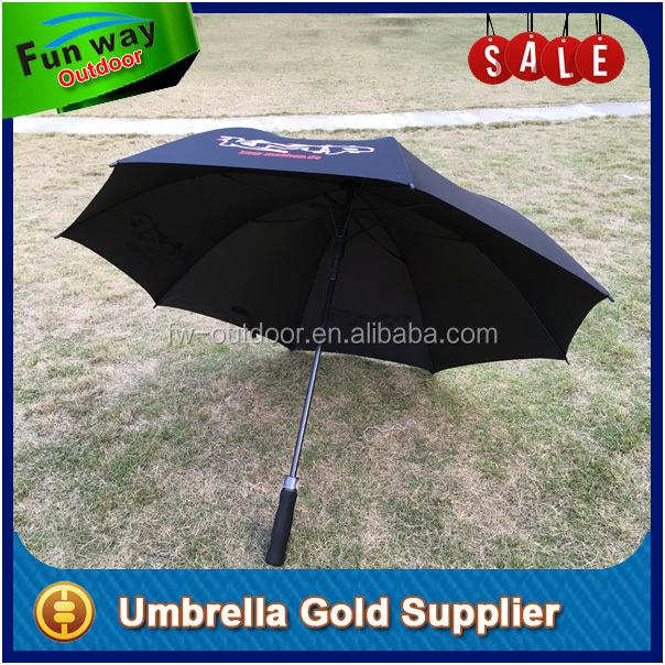 "Cheap 27"" Logo Printed Hotel Umbrella for Advertising"
