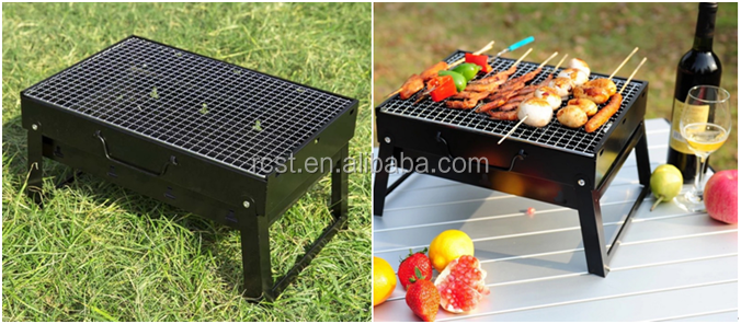 camping Portable Barbecue Girll folding Grill griddle
