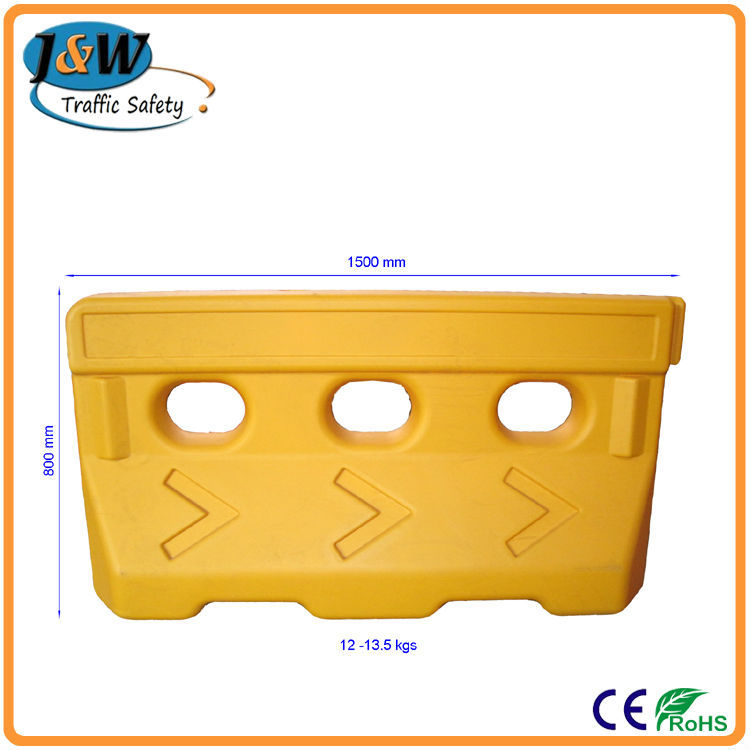 Most Popular Traffic Safety Products Water Fill Road Barriers