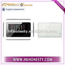 "2012 Hot Selling Allwinner A10 7"" Capacitive 3G Tablet JX-004X"