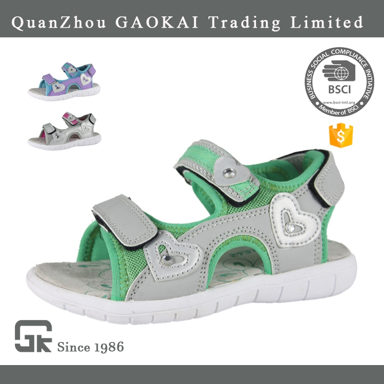 Latest Fashion Good Quality Girls Sandals, Children Fancy Sandals For Girls