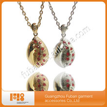 Fashion trendy 2014 jewelry quartz necklace