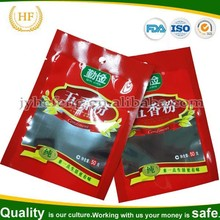 custom printed Aluminum foil food packaging bags for seasoning