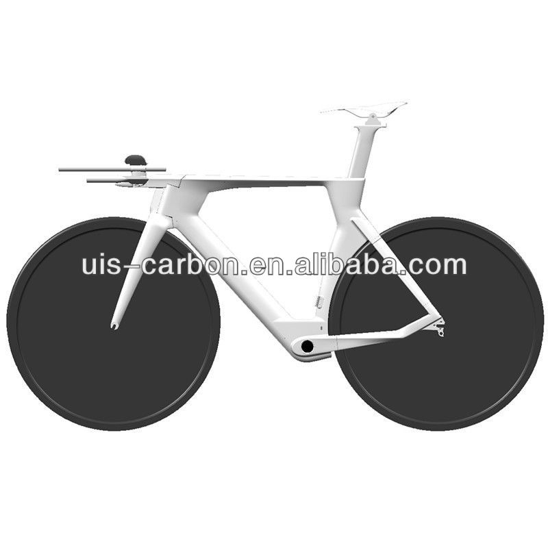 Full Carbon Time Trial Bicycle Frame For Sale