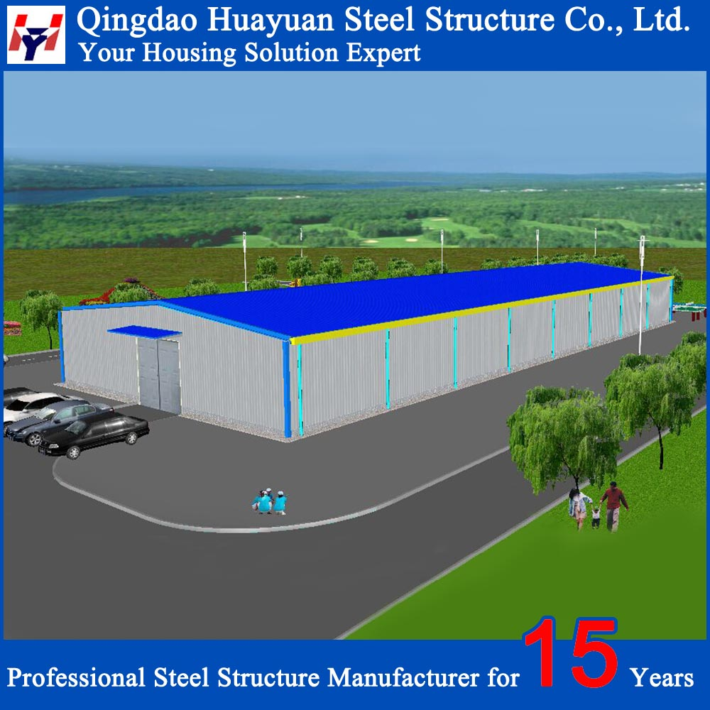 Q234 Q345 Steel Structural Prefab Factory Building in Africa
