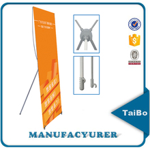 factory price custom advertising Korean X banner stand, X display banner