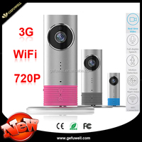 Newest APP remote control two way chatting H.264 WiFi 3G WCDMA ip camera in car