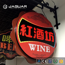 Attractive and cheap price easily use store advertisement open led bar <strong>sign</strong> board
