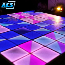 Wholesale price event rental white led dance floor for home hotel office party