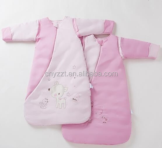 Free sample Baby Winter Sleeping Bag plush warmer sleeping bags