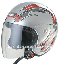 Novelty style open face motorcycle Helmet with DOT