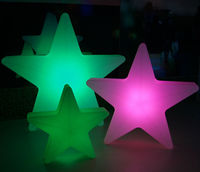 rechargeble color changing falling star led christmas lights for christmas decoration,outdoor christmas star lights