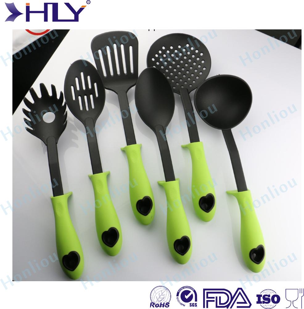 6 Pieces Nylon Silicone Kitchen Utensil Set Kitchen Accessories Buy Kitchen Accessories