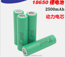 samsung lithium ion battery cell 18650 samsung inr18650-25r