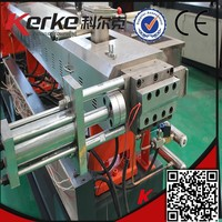 China manufacturer high performance dyeing machine plastic recycling extruder