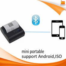 support tablet/mobile phone Android iSO POS System 80MM Bluetooth Mini Printer