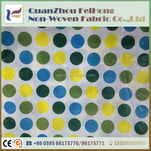 Anti-oil Tear-resistant PP Laminated Nonwoven Fabric Table Cloth Cover