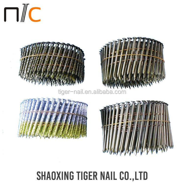 Hot Selling Silver color stainless steel roofing nails
