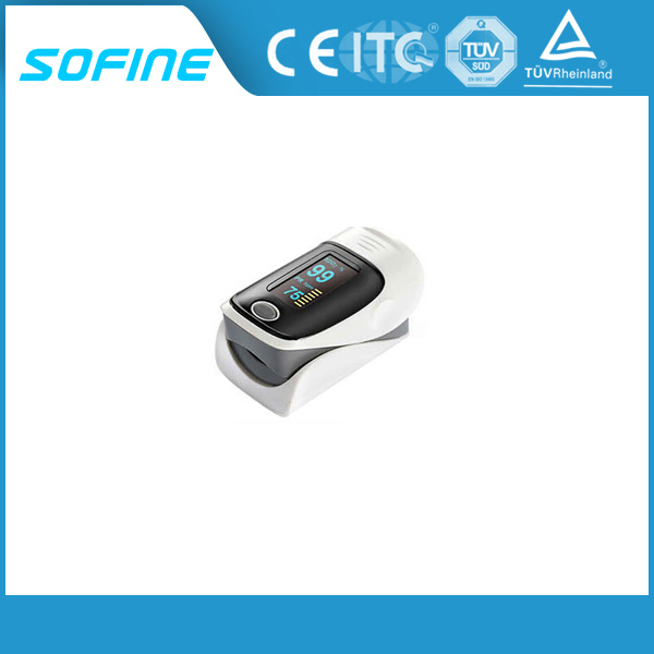 OLCD Display Portable Finger Pulse Oximeter with CE