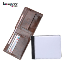 The newest blank sublimation cheque book holder wallet
