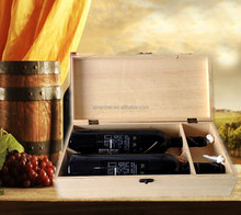 Wood boxes wholesale for custom brand names of red wines packaging