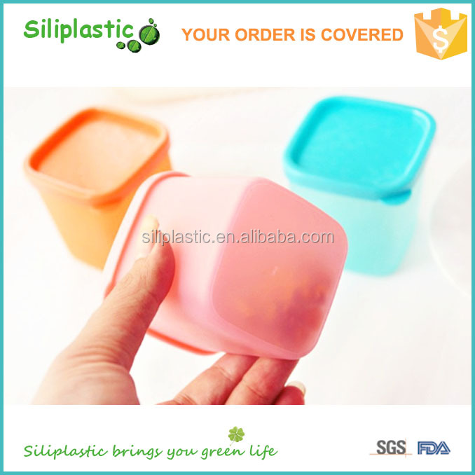 Best selling freezer safe food saver multi-colored baby food container