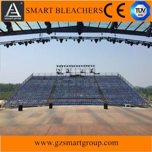 factory sale customized exhibition bleachers,sports grandstand seating with good after sale service