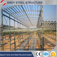 Prefabricated multi-storey steel warehouse steel building factory