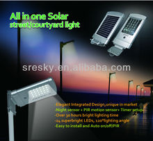 Ip65 Flood Solar Led Outdoor Light Lamp With Optical Sensor