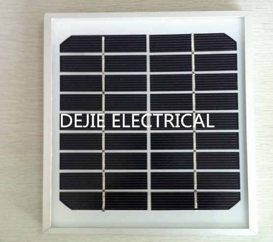 Glass Laminated Monocrystalline Solar Panel 9V 3W