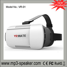 VR-01 Veister VR BOX 2.0 Version VR HD Virtual 3D Glasses With Mini Bluetooth Remote Controller