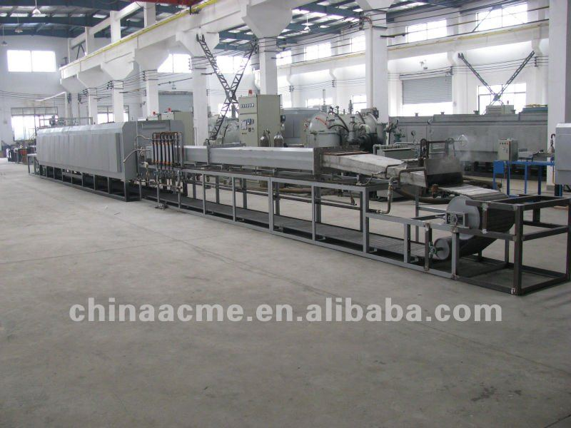 Mesh Belt Continuous Carburizing Furnace