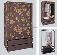 2014 trendy european style wardrobe interiors with door