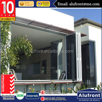 Aluminium Windows, 10 Years Warranty, Reliable Supplier Commercial Aluminium bi folding Window