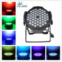 Customized professional, aluminum 54*3W RGB 3in1 LED par light