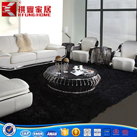 Modern style living room stainless steel coffee table