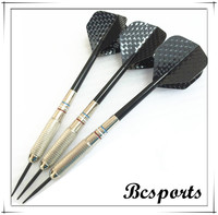 Indoor game 18-28g nickel brass steel tip dart set with painting line