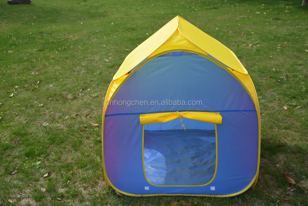 Hot selling kid pop up gild boy folding children play tent house